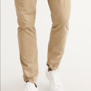 Abercrombie & Fitch Pants - ATHLETIC SKINNY CHINO PANTS
